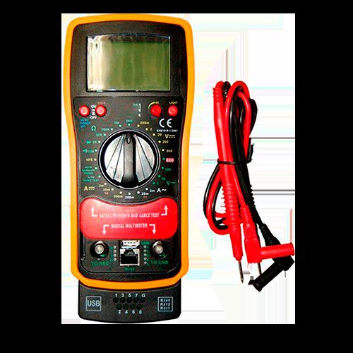 Multímetro Digital HY5300 C/ Localizador de Satélite