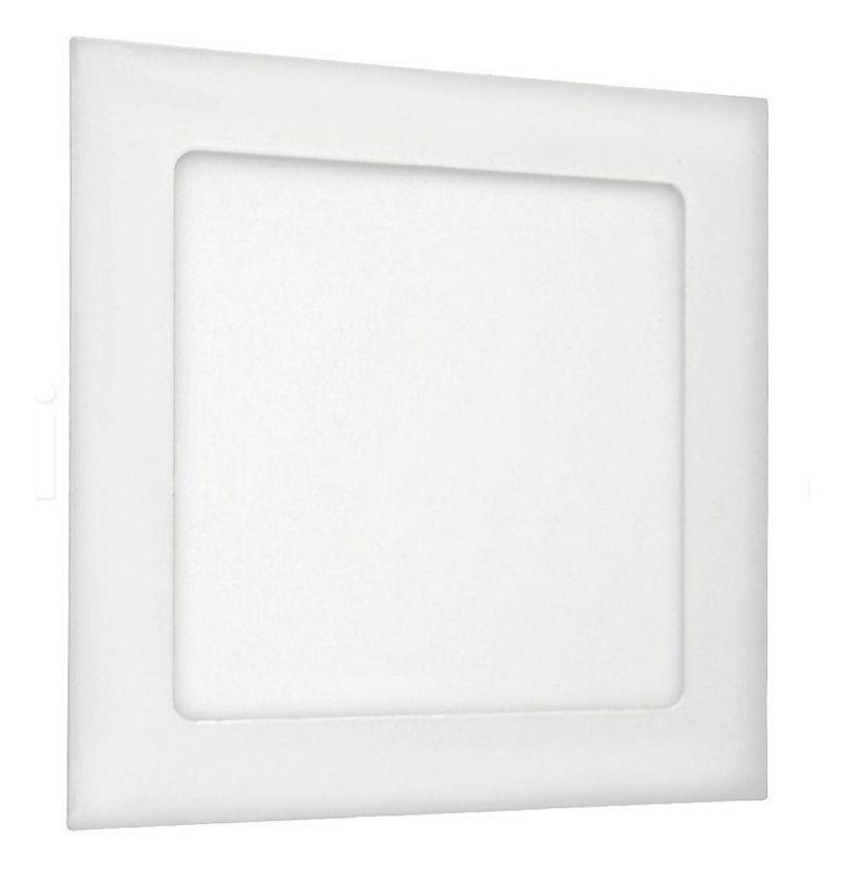 Painel de LED 16,5x16,5 p/ Embutir Quadrado 3000K - 12W (Bivolt)