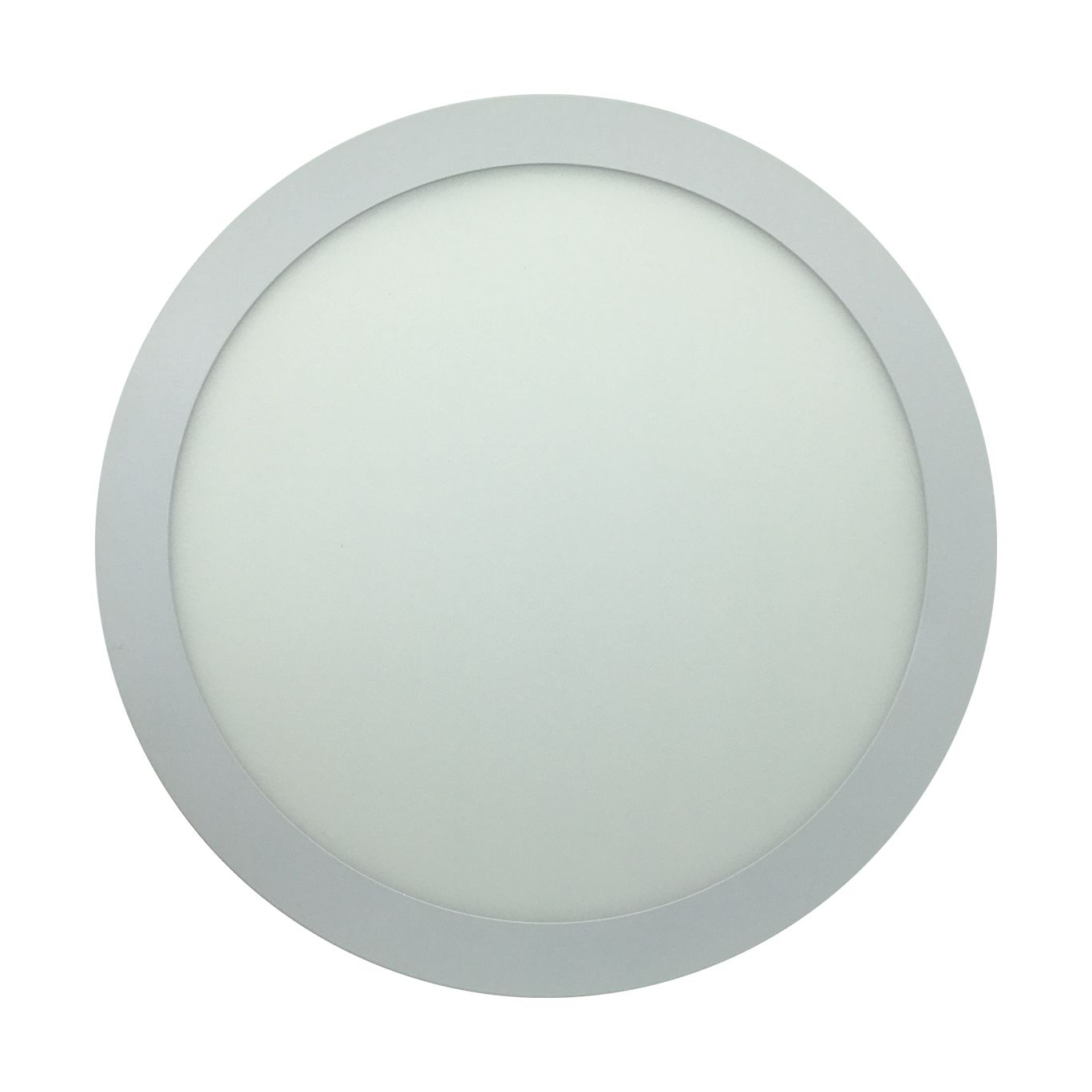 Painel de LED Embutir Redonda 3000K - 24W