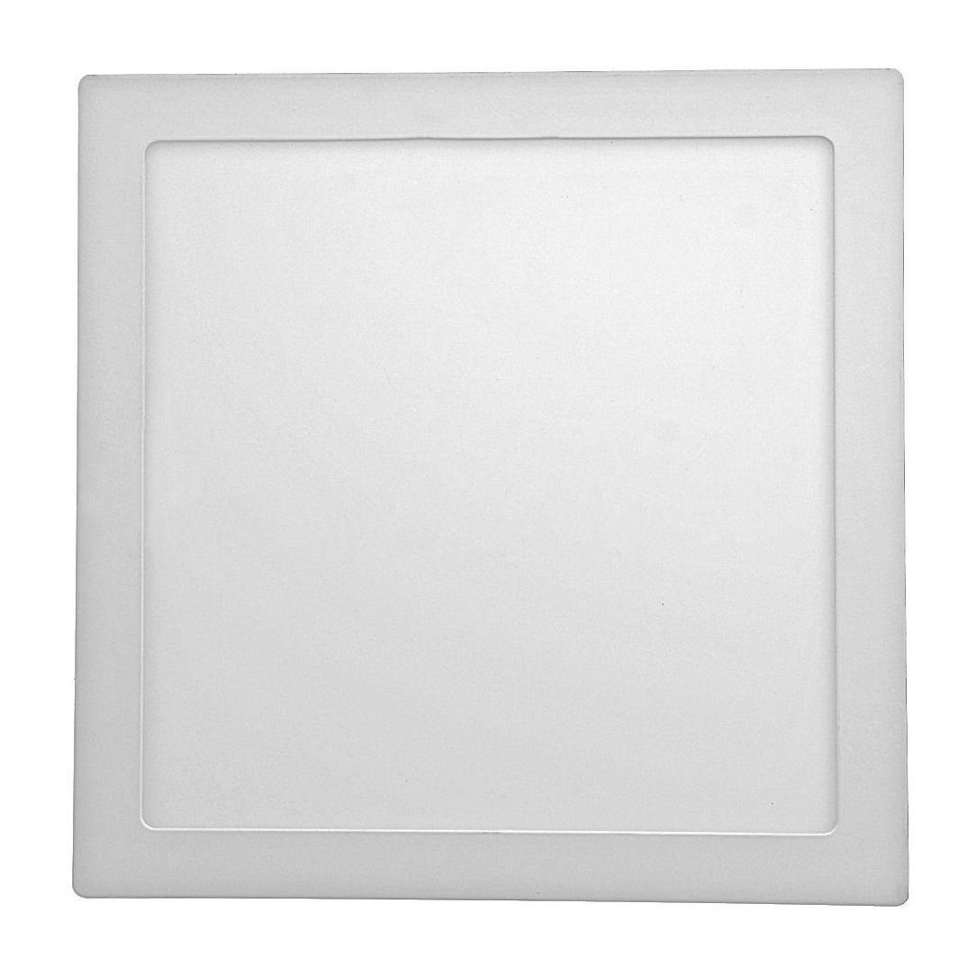 Painel de LED Sobrepor Quadrada 3000K - 24W