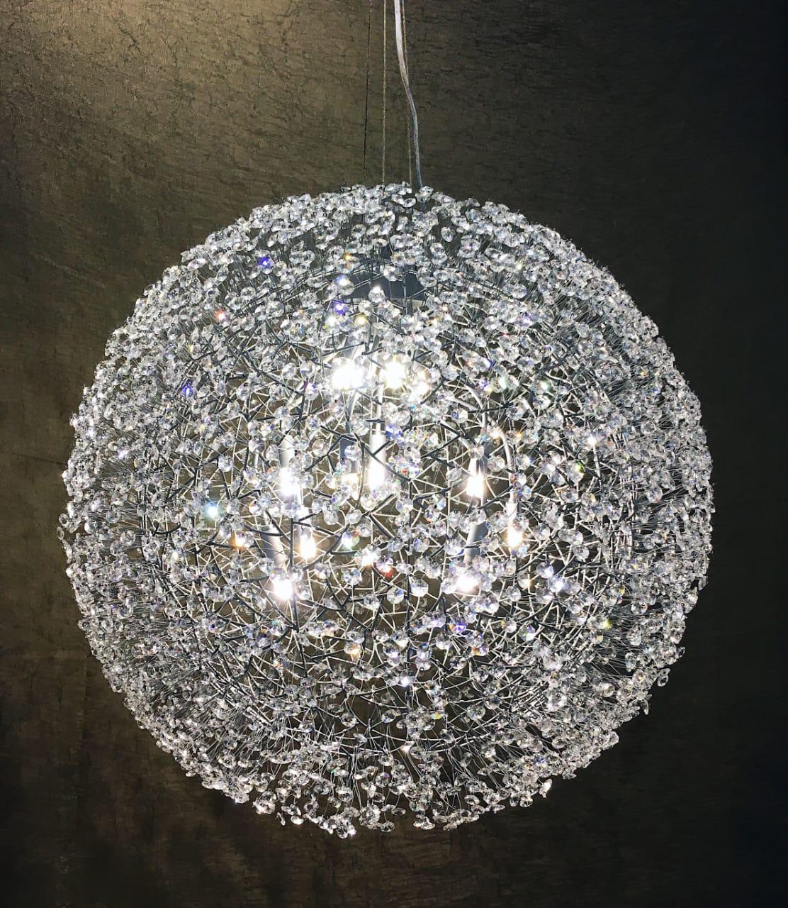 Pendente Bola de Cristal - 100X100