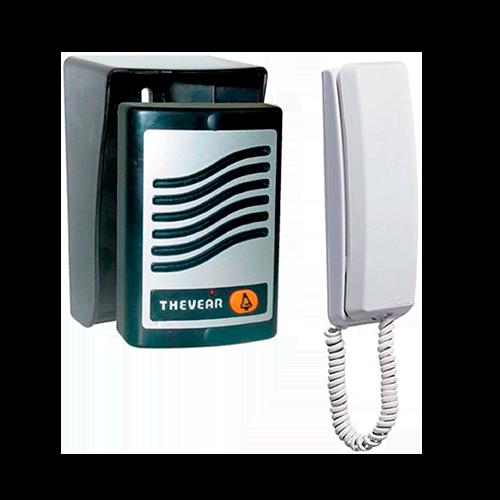 Porteiro Eletrônico Com Acionamento de Fechadura - Thevear (Ponta de Estoque)