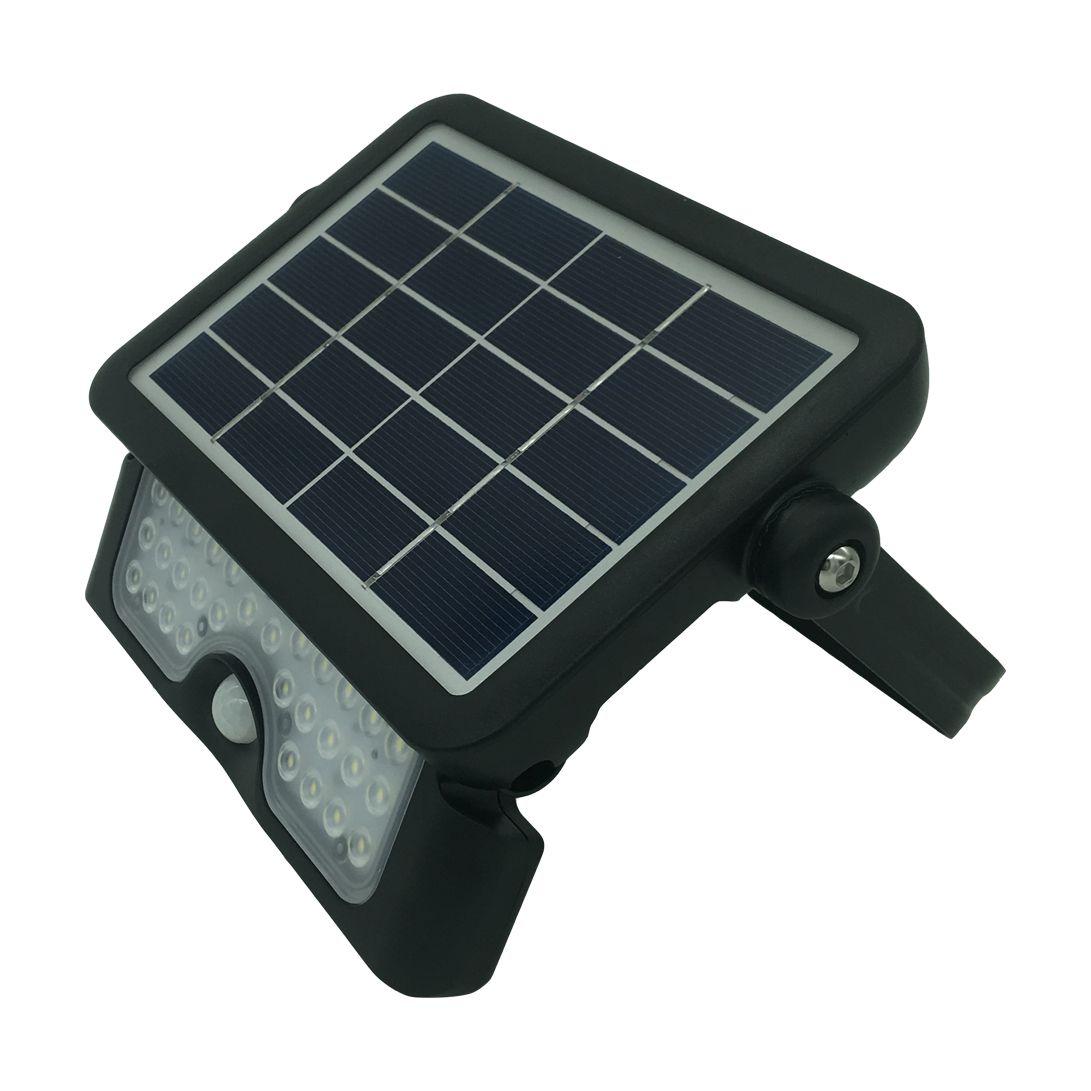 Projetor LED Solar 5W 6500K 360 c/ Sensor de Movimento - Demi