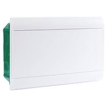 Quadro Embutir para 16 Disjuntores Sem Barramento Branco