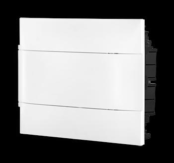 Quadro Practibox Embutir 12 Din Branco