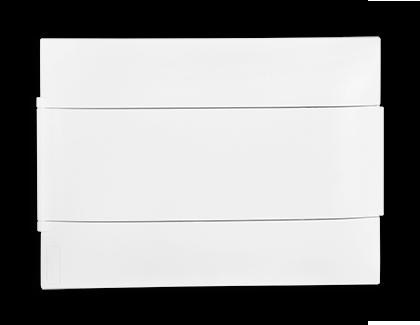 Quadro Practibox S 12 Din Branco Sobrepor
