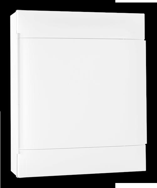 Quadro Practibox S 24 Din Branco Sobrepor
