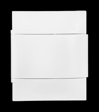 Quadro Practibox S 4 Din Branco Sobrepor