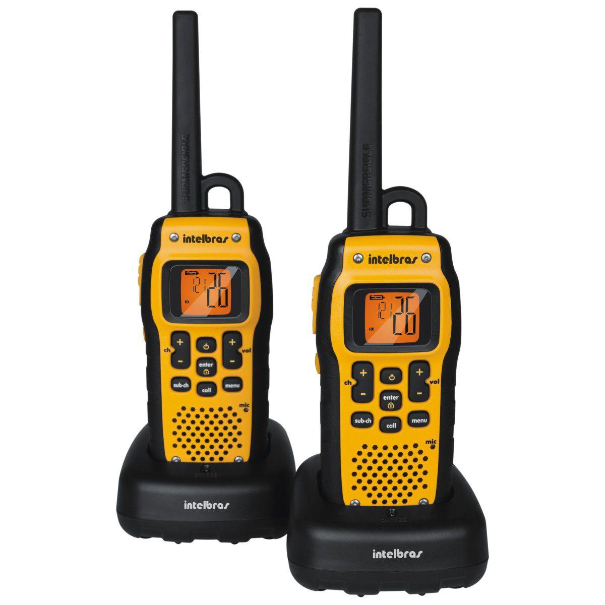 Radiocomunicador Twin À Prova D'Água- Intelbras (Bivolt)