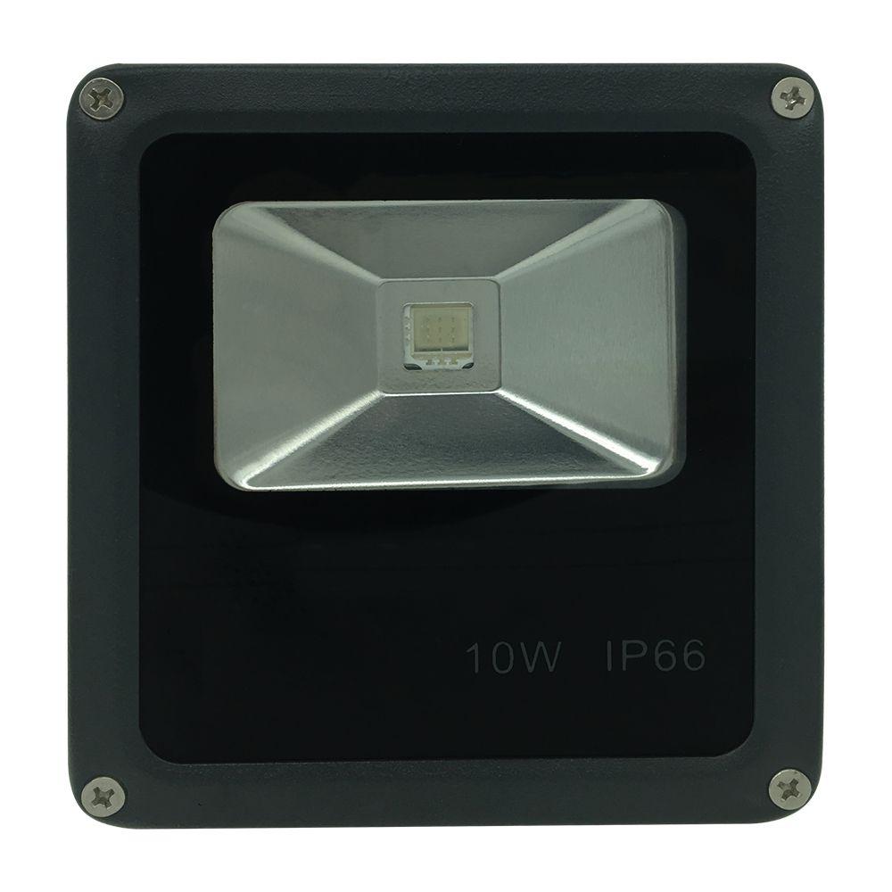 Refletor Preto Super LED 10W - Azul