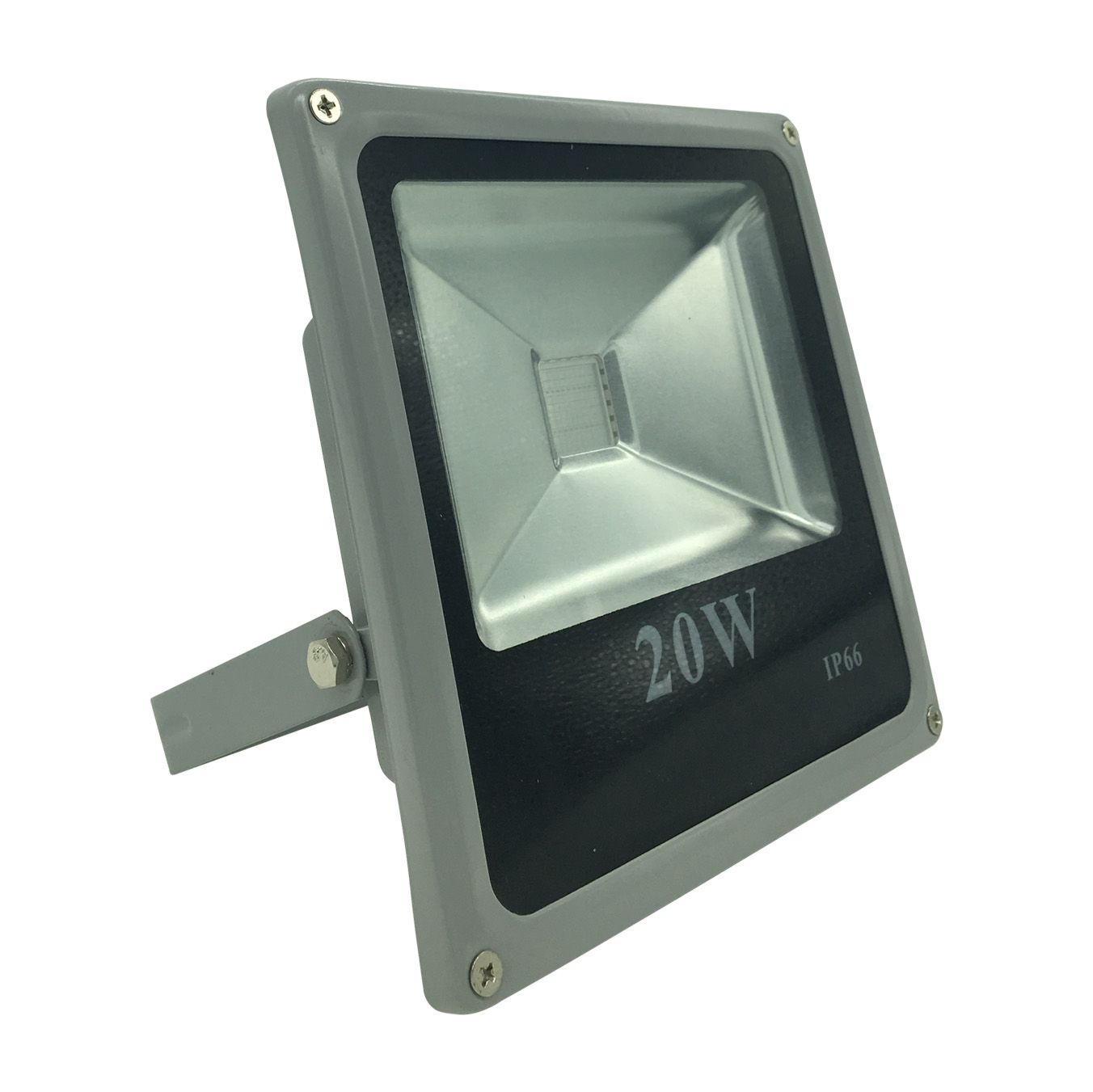 Refletor Preto Super LED 20W - Azul (Bivolt)