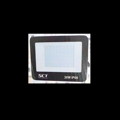 Refletor Preto Super LED 30W - 6000K (Bivolt)