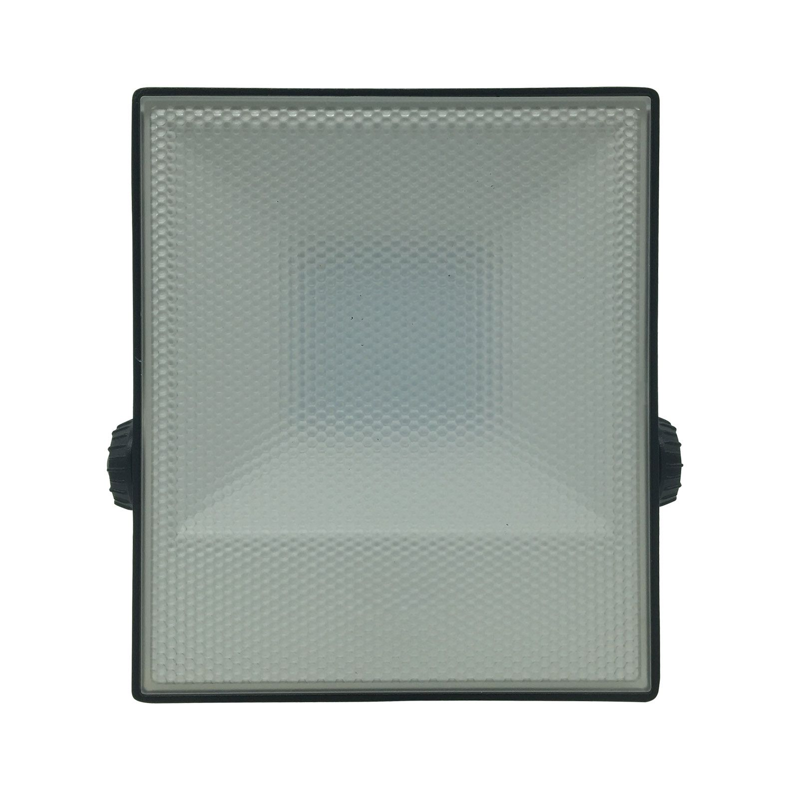 Refletor Preto Super LED Prismático PRO 50W 3000K - (Bivolt)