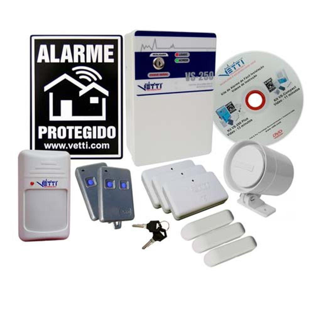 Sistema de Alarme VS 250 - Sem Fio