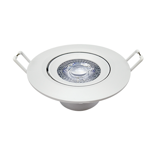 Spot LED Redondo de Embutir 3W 6500K - (Bivolt)
