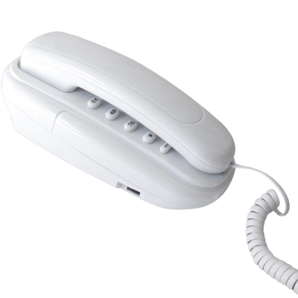 Telefone Terminal Baby TM10 Branco - Multitoc