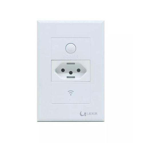 Tomada completa Branca com Wi-Fi - Líder