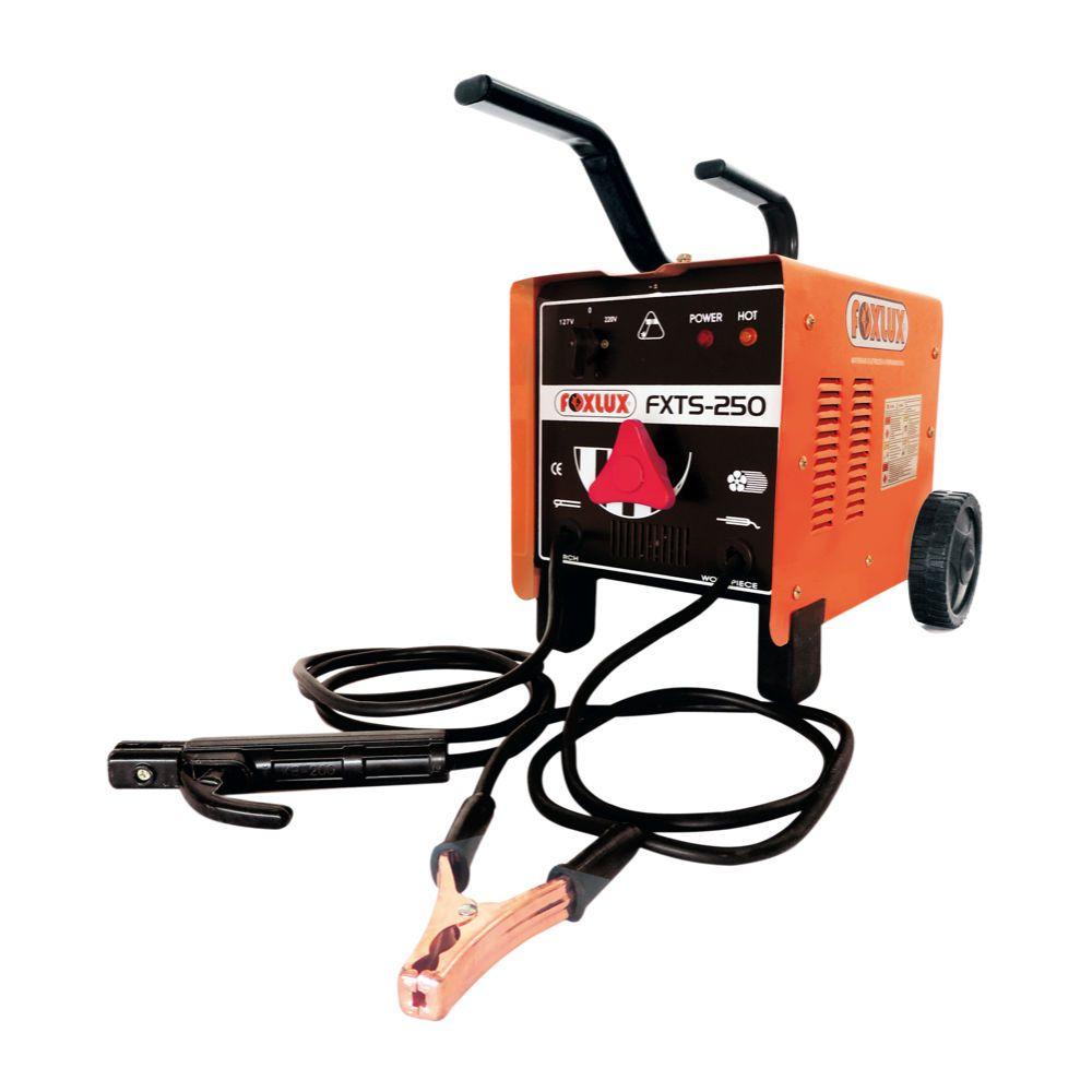 Transformador de Solda 250A FXTS-250- Foxlux (Bivolt)