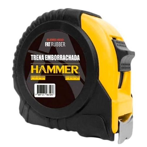Trena Emborrachada 10 Metros c/ Trava TE-10000 - Hammer