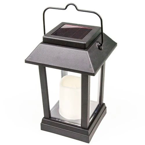 Vela Solar LED Decorativa - Ecoforce (Preto)