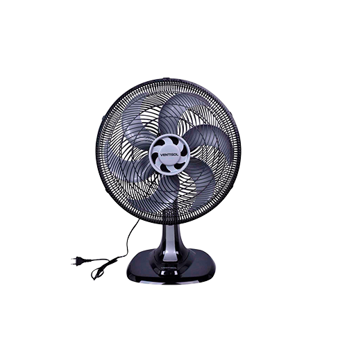 Ventilador de Mesa Turbo 6 Pás 30CM 127V Preto
