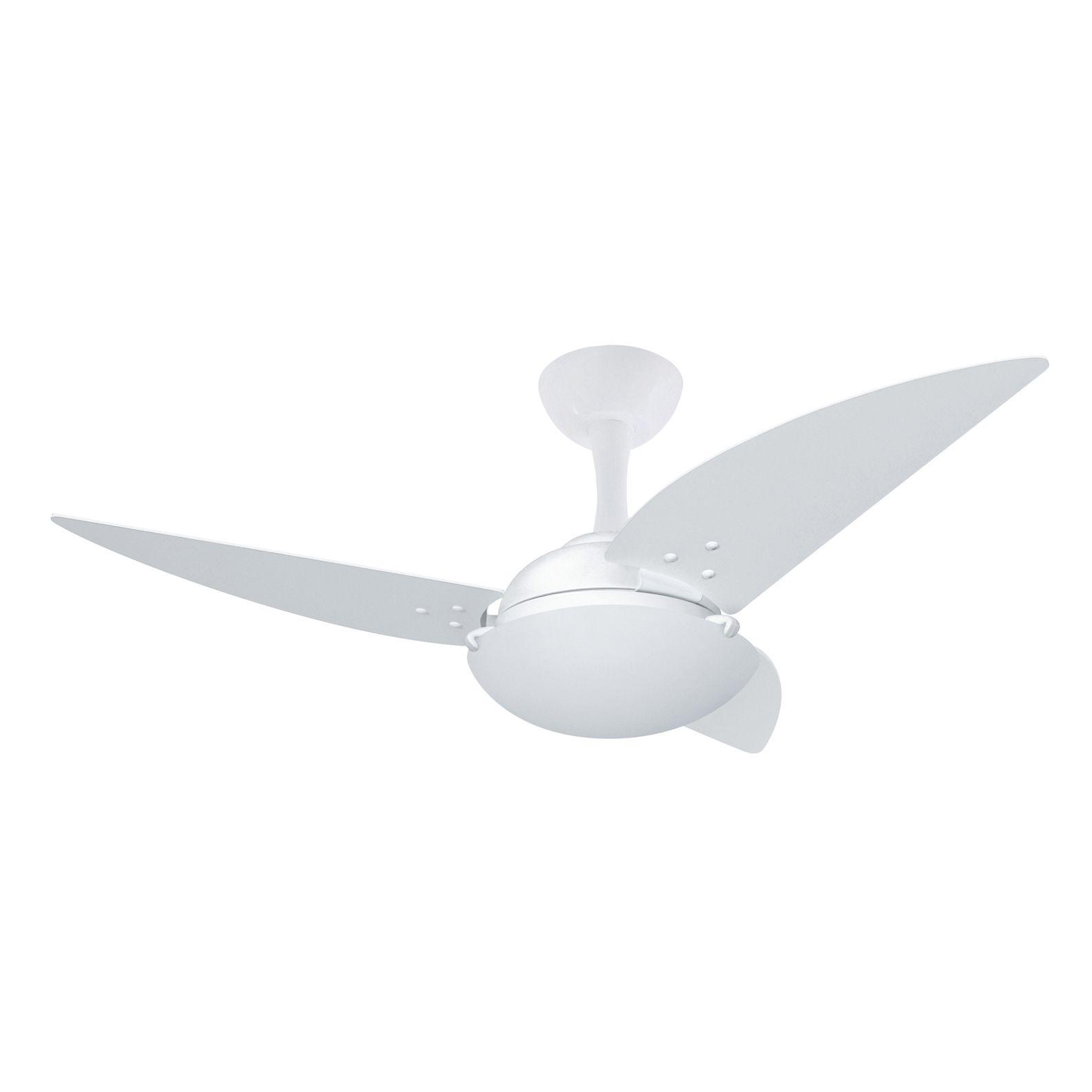 Ventilador de Teto 3 Pás Branco Uno Ventax - Volare (110V)