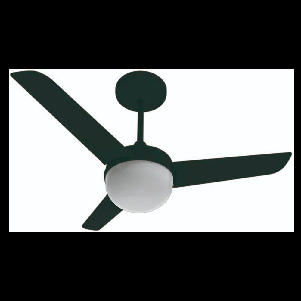 Ventilador de Teto Aliseu Alisclean Preto 127V - Aliseu