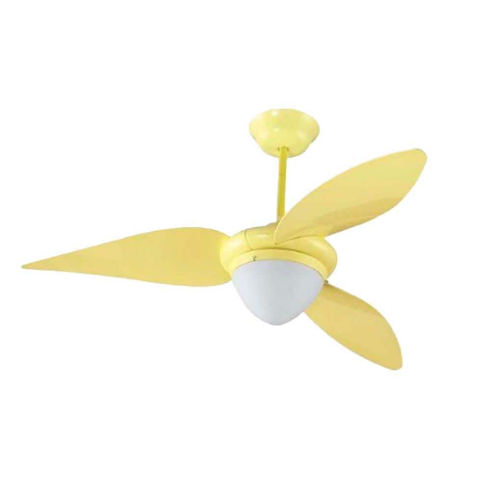 Ventilador de Teto Amarelo 220V - Aliseu