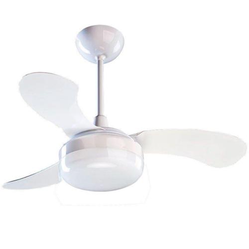 Ventilador de Teto Petit c/ Lustre e 3 Velocidades - Ventisol (110V)
