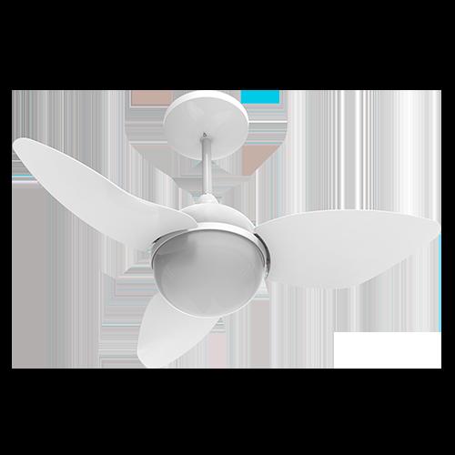 Ventilador de Teto Smart Com Controle Remoto 127V - Aliseu