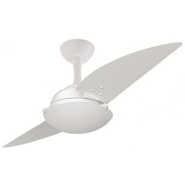 Ventilador de Teto Ventax Uno Branco e Tabaco - Volare (110V)
