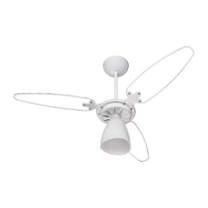 Ventilador de Teto Wind Light Pá Dupla Face Branco - 127V