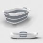 Banheira / Bacia Dobrável de Plástico e Silicone