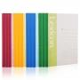 Caderno Colorido A5 60 Páginas Pautadas