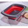 Escorredor de Cozinha Retrátil c/ Apoio para Pia