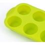 Forma de Silicone para Cupcakes 6 Unidades