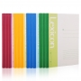 Kit 4 Cadernos Pautados A5 60 Páginas