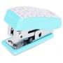 Mini Grampeador Colorido Com 640 Grampos