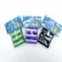Porta Saquinhos Pet com 10 Rolos de Refil Coloridos