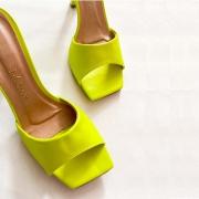 Tamanco Feminino Salto Fino NK Shoes - 711-4666