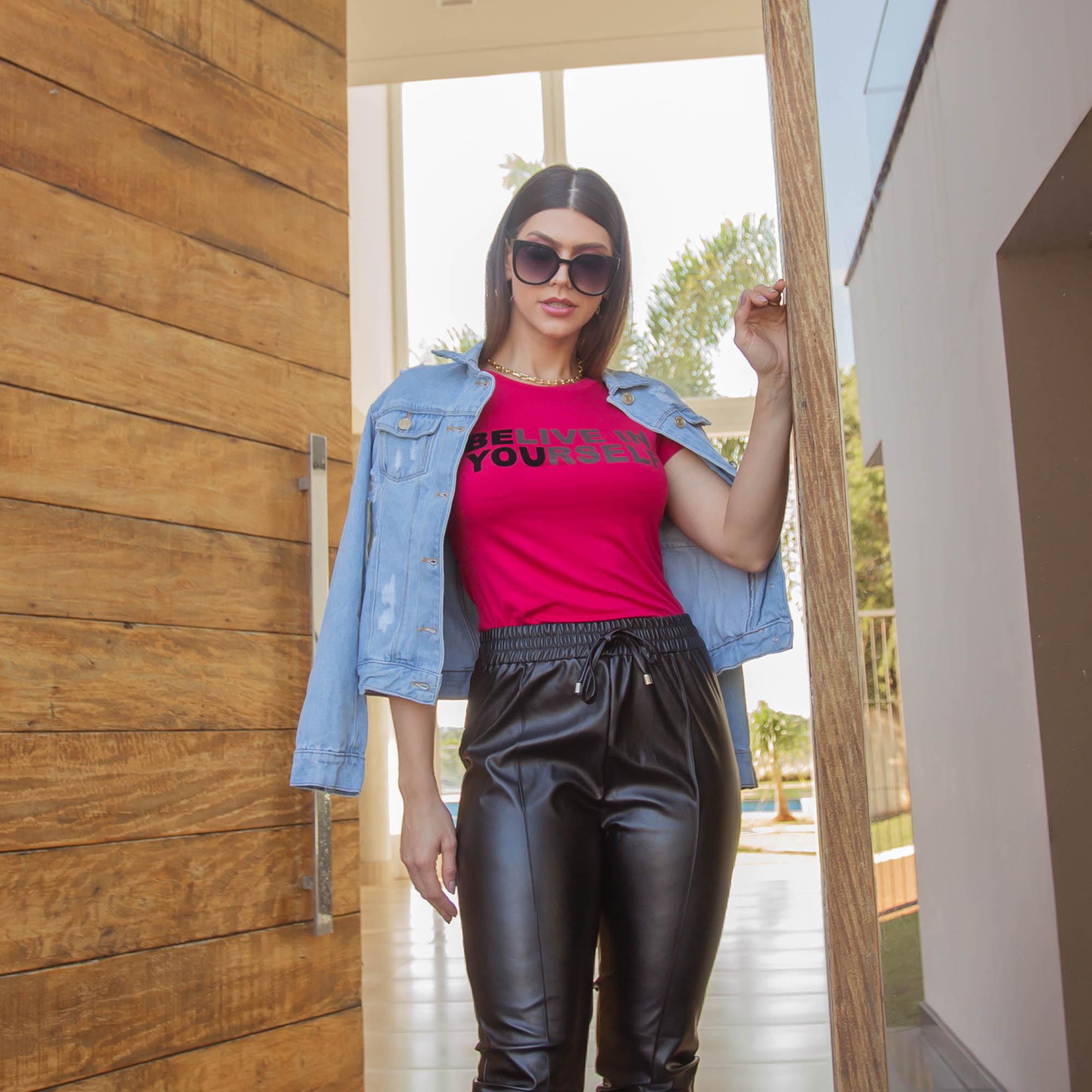 Jaqueta Feminina Jeans Destroyed Consciência Jeans - 20421