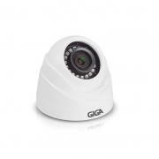 CAMERA DE SEGURANCA GIGA SECURITY DOME MET 1080p INFRA 30m 1/2.7 2.8MM IP66 2MP - GS0274