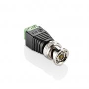 Conector P/ Camera Sistema De Segurança Giga Security BNC Macho - SE129