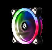 Cooler Led Rgb De 120mm P/ Gabinete Silencioso Conexao 4 Pinos Molex (Fonte) FC1304 - Hayom