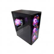 Gabinete Gamer Em Vidro Temperado Usb 3.0 C/ 4 Fans Rgb Incluso 2x Hds 3.5 2x Ssds 2.5 - GB1701 - Hayom