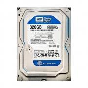 """HD Western Digital 3.5"""" 320GB Sata II 3.0 GB/s 7200 RPM 8 Cache WD3200AAJS"""