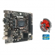Kit Upgrade Core I3+ Placa Mãe Lga 1155+ Cooler