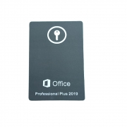 Licença de Uso Microsoft Office Pro Plus 2019 - Cartão