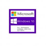 QLF 00572 Windows 10 Pro Refurbisher COA Part-Number