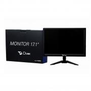 Monitor Led 17.1 Duex Widescreen Vesa Hd 1440x900 5MS Vga-Hdmi-Dc Dx M17HC Preto